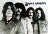 Black Sabbath - 'Group' Poster Flag